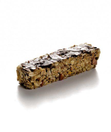 Μπάρα δημητριακών natural με σοκολάτα κουβερτούρα